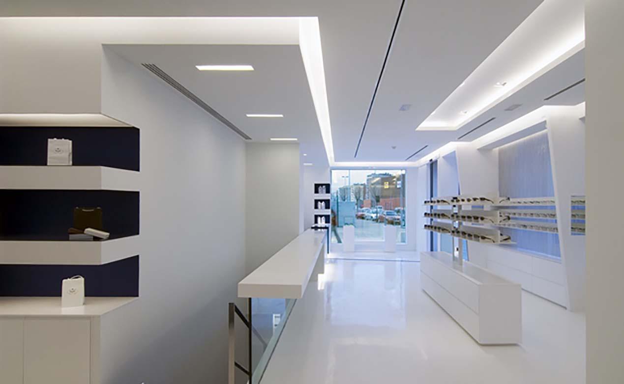 Focused LED lighting
