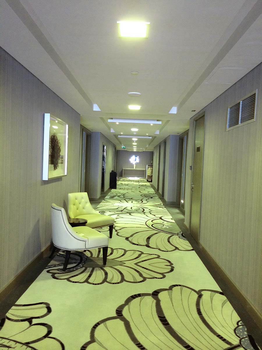 Hotel corridor LED lighting solutions
