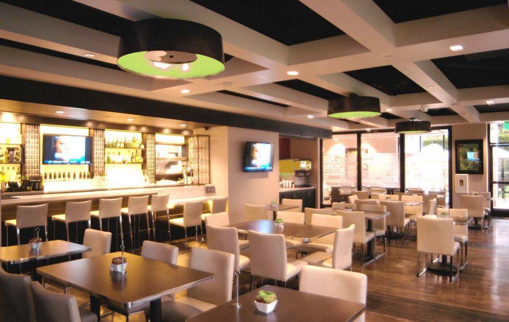 Hotel restaurant LED lighting solutions