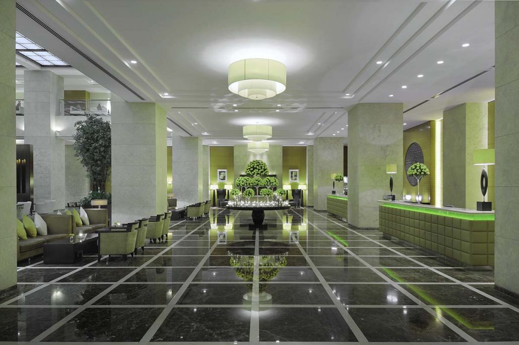 LED lighting for hotels in the UK and Midlands