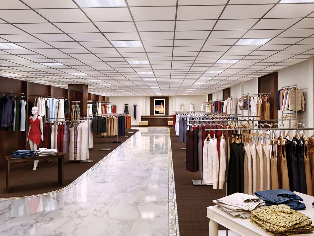 LED lighting for shops and retail outlets UK