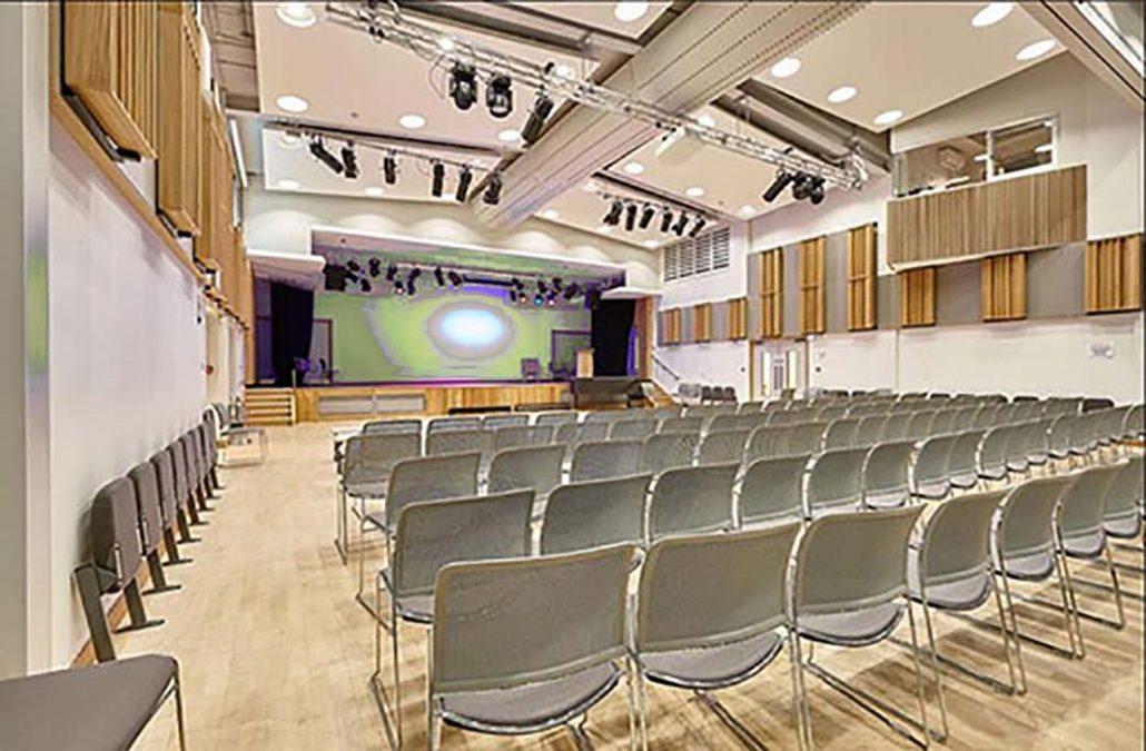 LED lighting options for school auditorium and halls