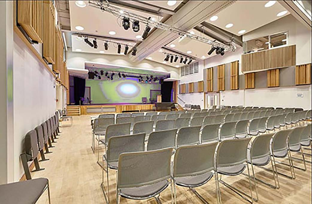LED lighting options for school auditorium and halls