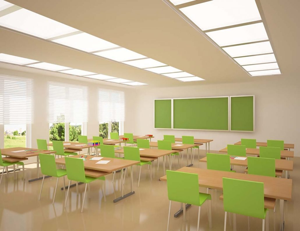 LED lighting solutions for schools in the UK and Midlands