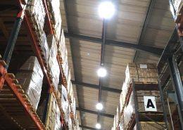 Warehouse LED lighting UK and Midlands